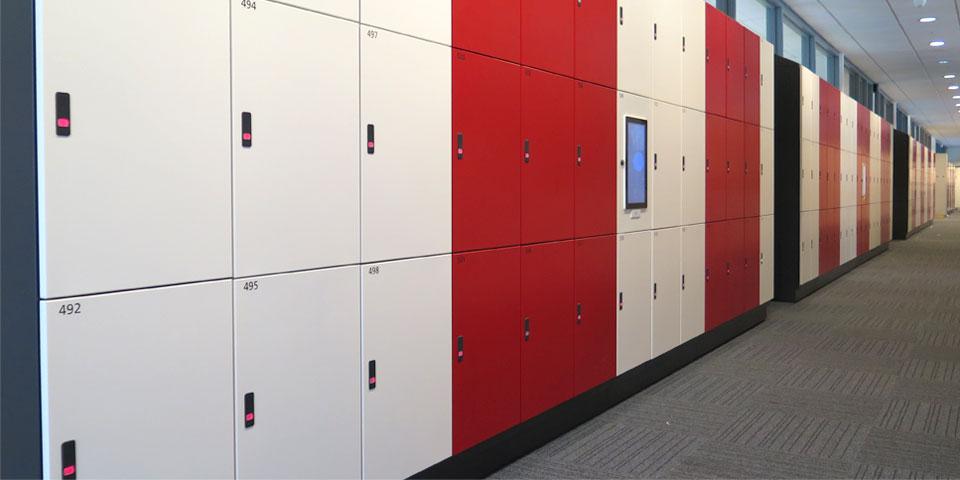British school lockers with rfid